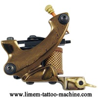 free shipping Damascus tattoo Machine gun supply  kit  Noiseless Steel Brand New 2012 Hot Selling Custom Available good quality