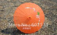 Orange Easter hanging decoration umbrella , dance umbrella,