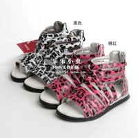 2012 summer 280 child female child sandals pigskin insole parent-child 22 - 36