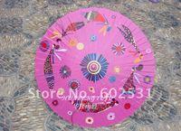 ROSE RED Hand-paintedpicture porcelain umbrella  blue flower cloth umbrella ancient costume umbrella