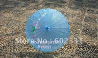 Lake blue Technology umbrella, dance umbrella, silk umbrella