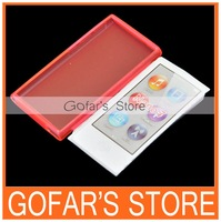 Gel TPU Case for iPod Nano 7 500pcs/Lot Top Quality