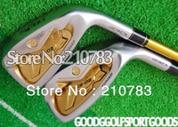 2012 New Golf Clubs Honma Beres IS-02 irons Set 4.-10,11.As Sw steel/shaft clubs Headcovers/Graphite/shaft Free Shipping