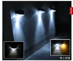 order free shipping Solar outdoor use solar wall light(China (Mainland))