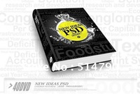 New ideas---PSD layered material Gallery  (design book---Design Pattern material ) -----Book+40DVD