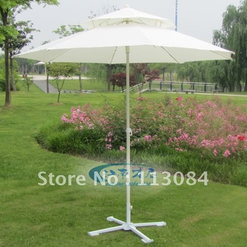 Outdoor big beach / sun / rain / UV-resistance / garden umbrella in elegant and beautiful style
