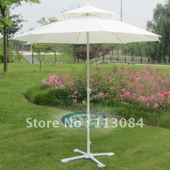 Outdoor big beach / sun / rain / UV-resistance / garden umbrella in elegant and beautiful style