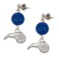free shipping new design cheap Magic sports rhodium plated earrings