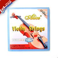 Best Quality Alice alice violin set string violin strings stainless steel wire violin strings