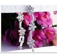 2012 new popular zircon plum bracelet Cubic Zirconia bracelets for women