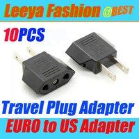 10pcs European EURO to American US USA Travel Plug Adapter wholesales & retails