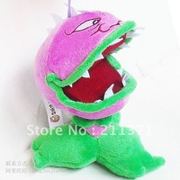 Free shipping Plants VS Zombies Open Mouth Chomper Plush toy  Baby Stuffed doll Toy kids birthday gift
