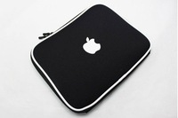 Free shipping for apple macbook notebook sleeve bag waterproof laptop cover black for  ipad 2 Perfect protection factory price