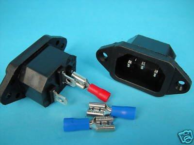 10 блок питания IEC входной