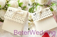 216pcs Silver Sweet Scalloped Favor Box TH003 Festive and Party Supplies