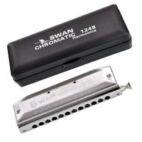 free shipping Sw1248-6 circarc harmonica super 12 chromatic harmonica