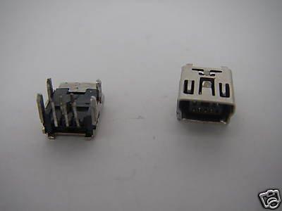 20 Mini USB Female Right-Angle PCB Mounted Jack 112A(China (Mainland))