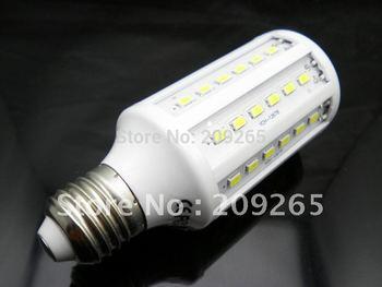 5pcs/lot E27 15W 60 LED 5630 Warm White Cool White led Bulb Lamp 220V #928
