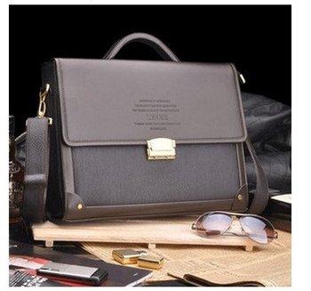 2015 new men's bags Hot sale!! New Genuine pu Leather Men Bags Briefcase Men tote Shoulder Bag Laptop man Bag,free shipping