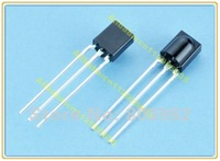 Factory wholesale 38Hz IR receiver Module 8-30M transmission distance 20mA 2.5-5.5V plastic package