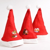Wholesale Free Shipping Santa Hat for children kids Christmas Hat / Christmas Gifts,for small size ,free shipping