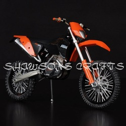 DIE CAST 1/12 KTM 450 EXC 09 MOTORCYCLE MODEL DIRT BIKE REPLICA(China (Mainland))