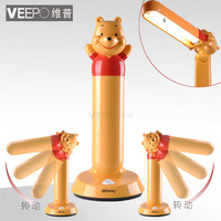 EMS FREE SHIPPING Veepo learning eye cartoon bed fashion modern child table lamp brief 8213h