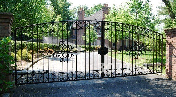 Popular Fence Gate Designs from China best selling Fence