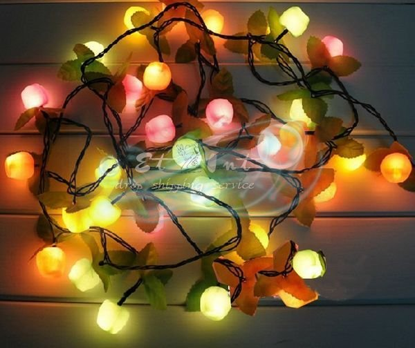 Christmas decorative lantern fruit lights holiday decorations lights Christmas tree decoration lights(China (Mainland))