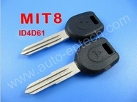 Sale High quality,good service mitsubishi transponder key ID4D61 chip (MIT8 with left key blade),Wholesale and retail