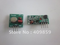 Free shipping !!! 20pair/lot 433MHZ Superregeneration Wireless Transmitter Module Burglar Alarm and Receiver Module