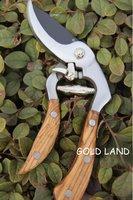 L20cm Free shipping All stainless steel Forge 2pcs/lot gun type scissors pruning shears garden scissor pruner shear