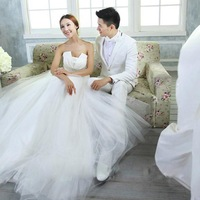 Princess Dresses 2013 Fashion 2012 Winter New Arrival Tube Top Princess Bride Mermaid  Wedding Dress 526