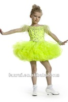 Free Shipping free shipping 2012 new arrival gold yellow cupcake pageant girl dress