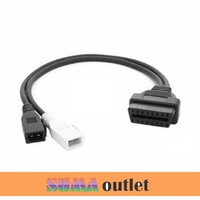2x2 to OBD2 Adapter obd connector cable for Audi