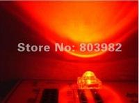 5MM High Flux led 15-20mA Piranha LED 1000-1400MCD RED Diodes  1.9V~2.1V 1000PCS