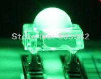 High Flux led 15-20mA 5MM Piranha LED 3000-4000MCD Green square DIP LED 505-530NM