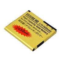 Singapore HongKong Free Shipping Li-ion Battery 2450mAh For HTC G10 A9191 Desire HD High-Capacity B0326H