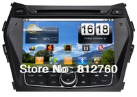 "New!!8"" Android 2.3 Car dvd player for Hyundai IX45 512MB RAM 8GB ROM GPS Navigation, Radio,IPOD+Support Wifi 3G Free shipping!"