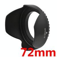 Wholesale 10pcs 72mm Lens Hood Screw Mount Petal Crown Flower Shape for Canon Nikon Sony Pentax