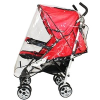 C18jingsheng  Free shipping New arrival luxury trolley rain cover baby car windproof hood rain cover car umbrella rain cover