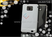 FREE SHIPPING High Quality Soft TPU Gel S line Skin Cover Case for Samsung Galaxy S2 i9100 .