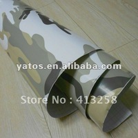 1.52M Width Camouflage Carbon Wrap Vinly Car Sticker With Air Free Bubbles