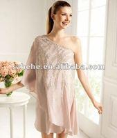Вечернее платье Real photos yellow color same as Blake Christina Lively one long sleeves floor length celebrity evening dress 2012