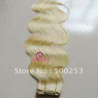 Sunnymay blonde body wave hair extension virgin brazilian human hair weft