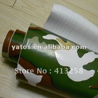 1.52M Width Camouflage Wrap Sticker Vinyl With Air Free Bubbles