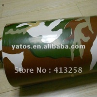 Camouflage Car Wrap Vinyl Sticker With Air Free Bubbles