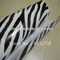 1.52M Width Camouflage Car Wrapping Sticker With Air Free Bubbles