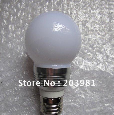 EXW Price AC85-265 3w E14/E27/B22 RGB led bulb light /led golf ball bulb with remote controller(China (Mainland))