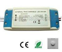 24W 450mA Triac dimmable led driver Rubycon capacitor 0-100% dimming range led driver 450mA Dimmable led driver